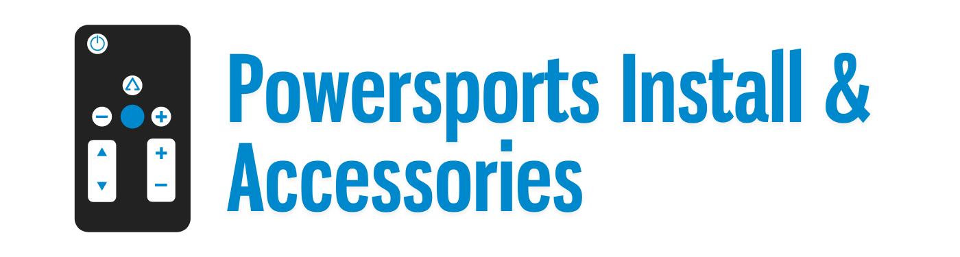 Powersports Audio Install & Accessories