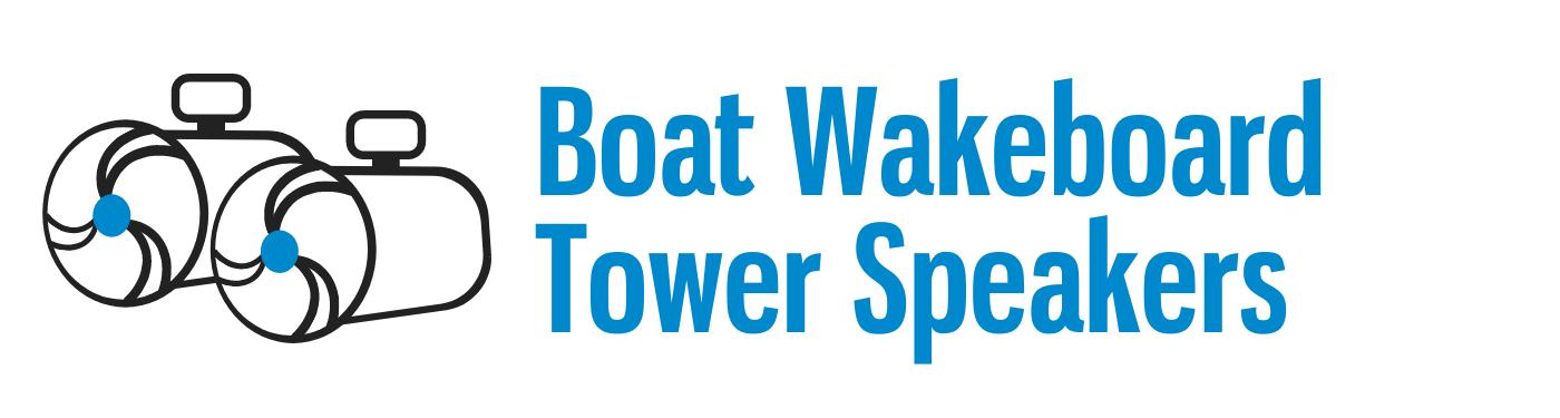 Boat Wakeboard Tower Speakers
