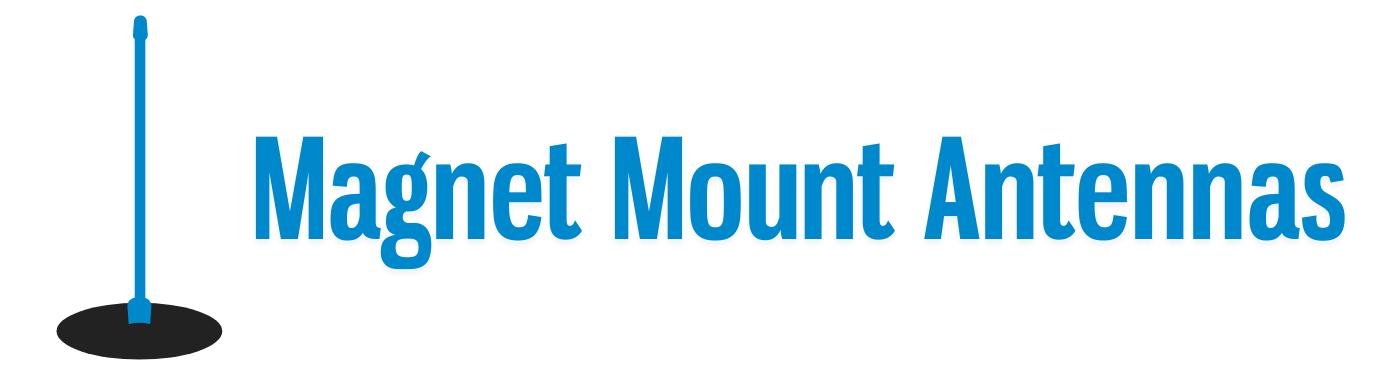 Magnet Mount Antennas