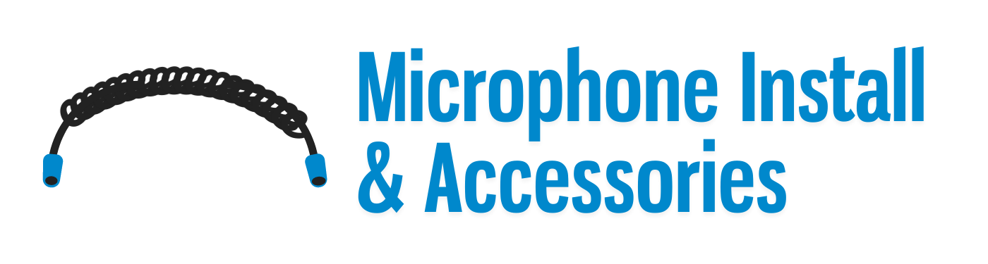 Microphone Install & Accessories