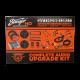 Stinger SVTHD9813KIT Plug & Play Speaker/Amp Kit for Harley
