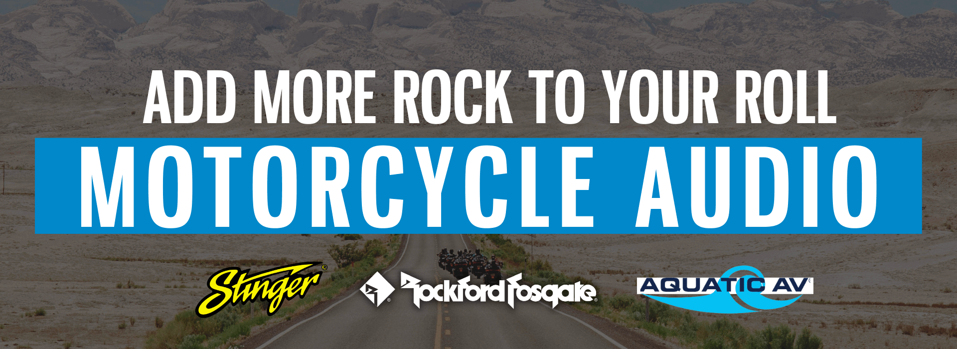 Add more rock to your roll with motorcycle audio